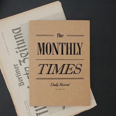 The Monthly Times Note book
