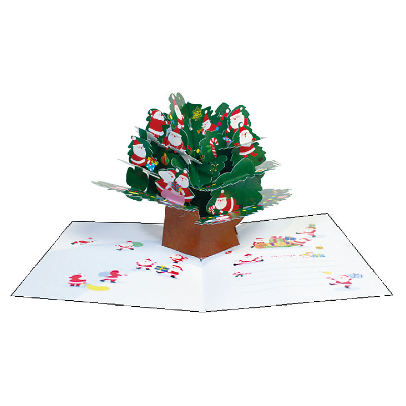 MINI SANTA POPUP CARD XC 1000094193