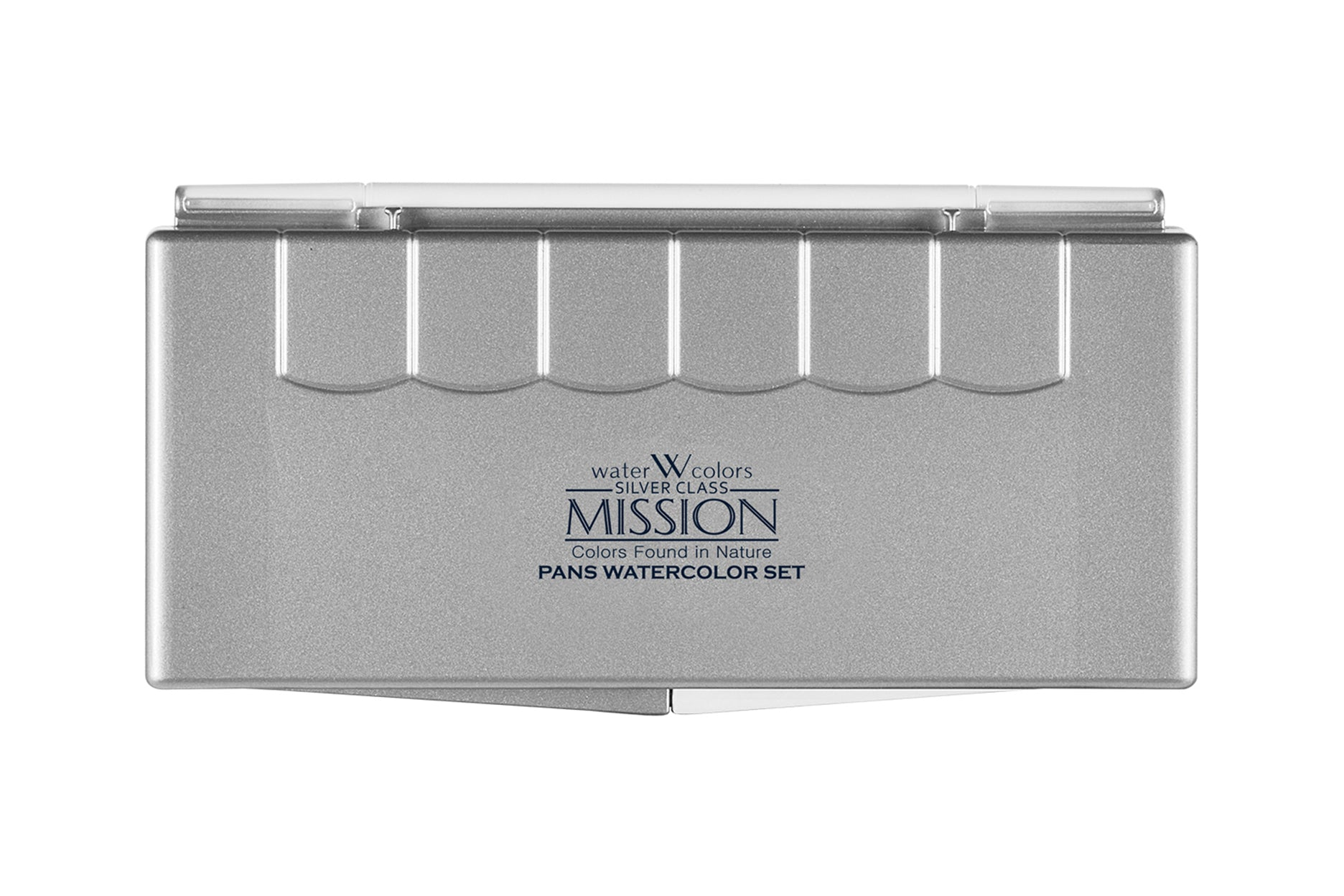 MISSION Silver Pan 12 Colors Regular