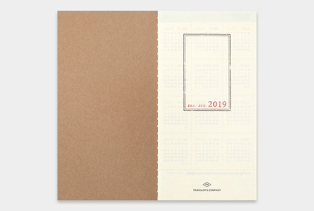 TRAVELER'S notebook 2019 Weekly Vertical