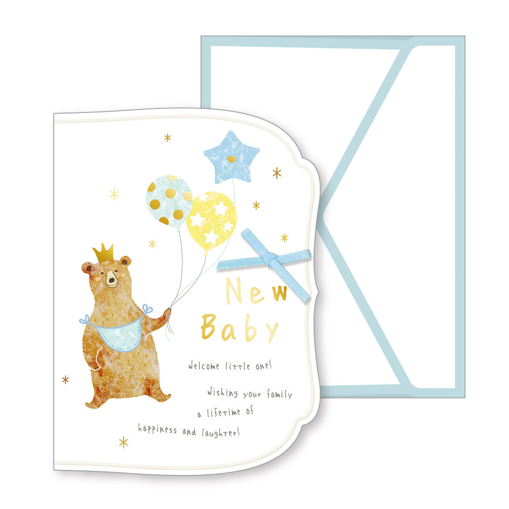 Baby Card Popup Bear