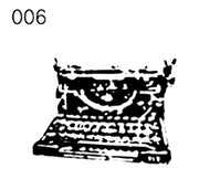 Antique Style Self Ink Stamp