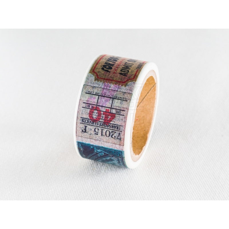 Overseas Ticket Washi Tape