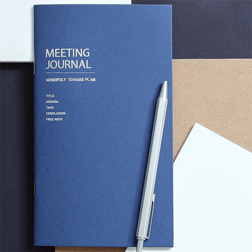TO MAKE PLAN-MEETING JOURNAL