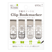 MD StainlessSteel Clip Bookmarker