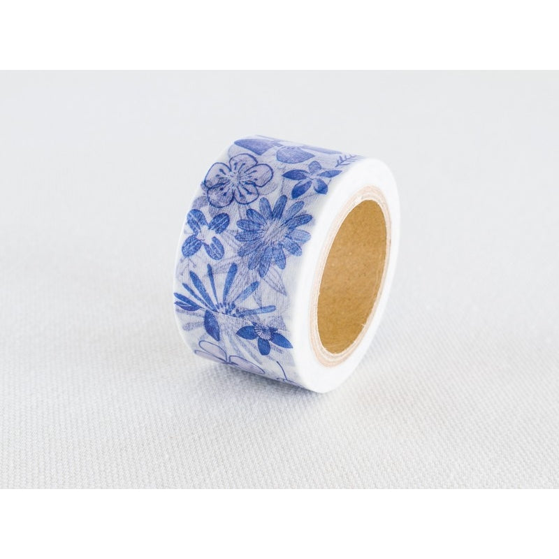 Chamilgarden 6th Blue Butterfly Delphinium Masking Tape