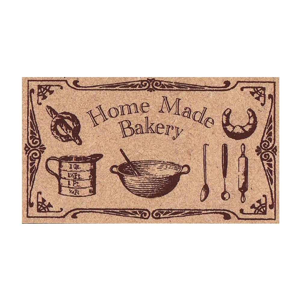 Home Made Bakery Wooden Stamp