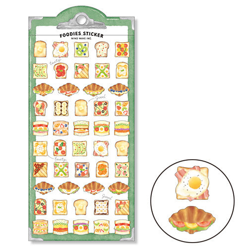 Foodies Sticker Sandwich