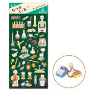 MW Washi Cotton Sticker Science