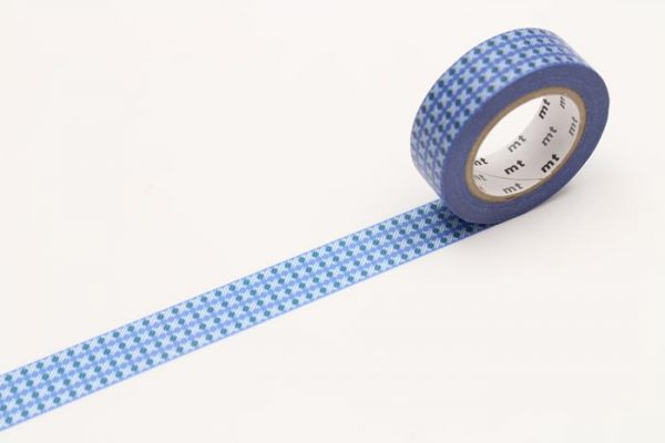 IP-DOT STRIPE BLUE MT TAPE