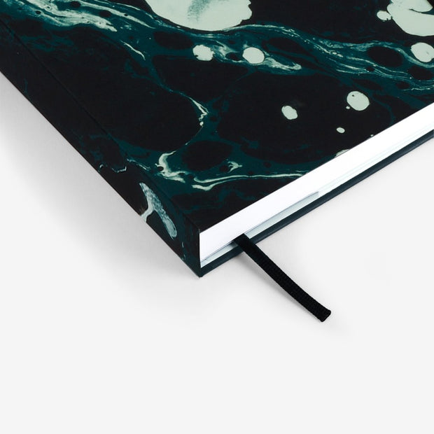 MOSSERY 2021 Hardcover Planner Monthly+Weekly Horizontal-Seafoam 052