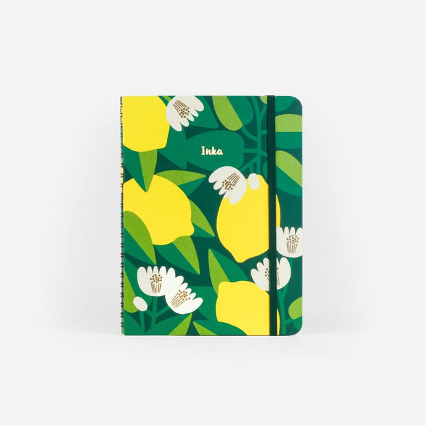 MOSSERY Medium Wire-O Notebook-Hardcover