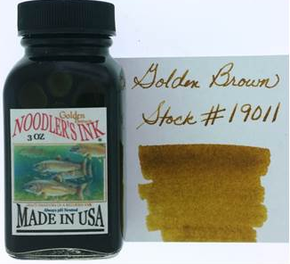 Noodler's Golden Brown 3 oz