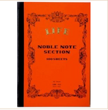 NOBLE NOTE 148X210MM 5MM SECTION