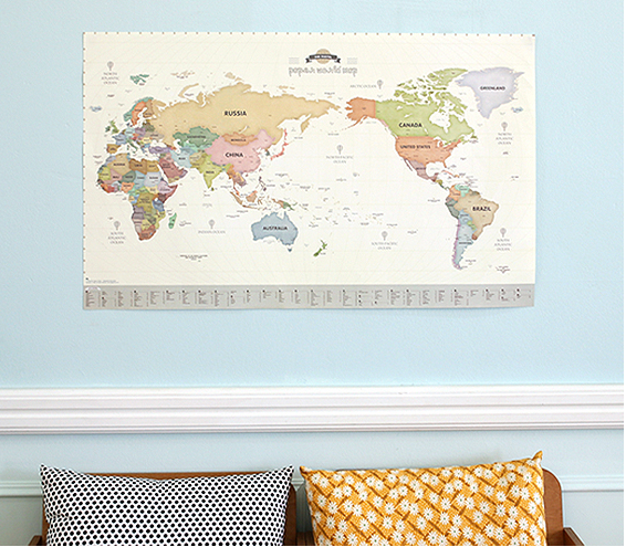 Paperworld Map (renewal)-Pastel