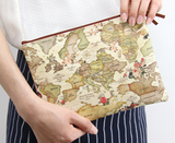 indimap pattern pouch-big (antique)