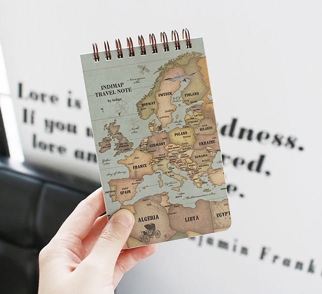 indimap travel note-retro