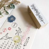 Makiko x Niconeco Zakkaya Collabration Stamp
