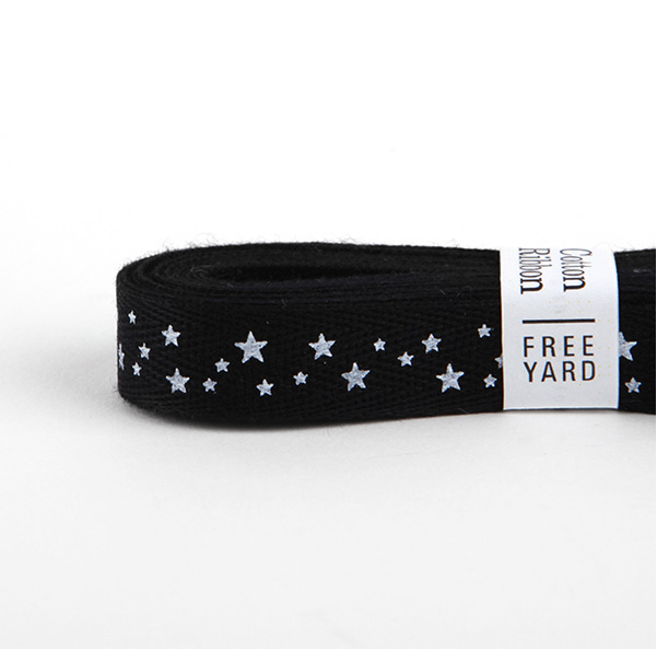 Ribbon-18 Starry Night Black