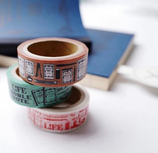 NOBLE 10th Limited Edition Washi Tape