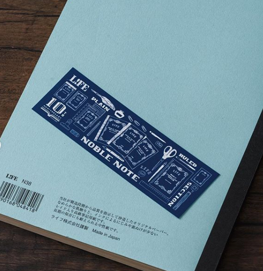NOBLE 10th Limited Edition Notebook Set A6