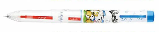 ZEBRA Limited Edition SNOOPY Select 5Colors Pen Barrel