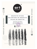 Water-Soluble Graphite Sticks-6pc Set