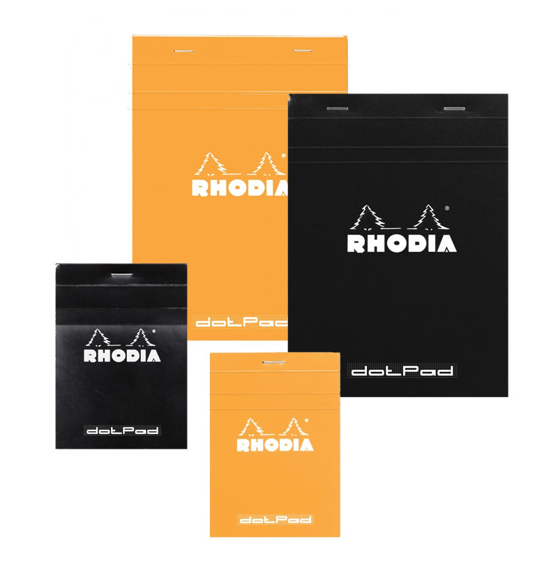 RHODIA Basics Orange Dotpad