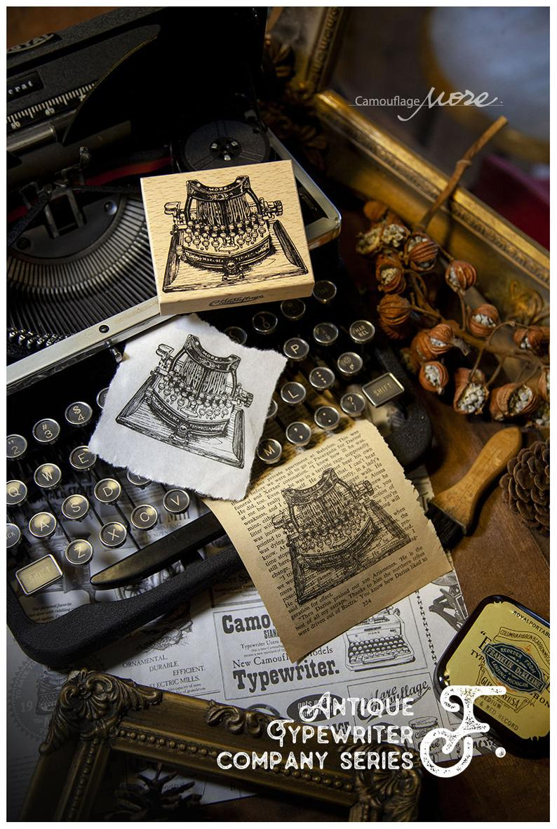 LCN Old Style Company Series Typewriter Stamp Set
