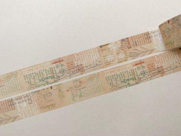 CHAMILGARDEN Masking Tape Vol 1 W-20mm