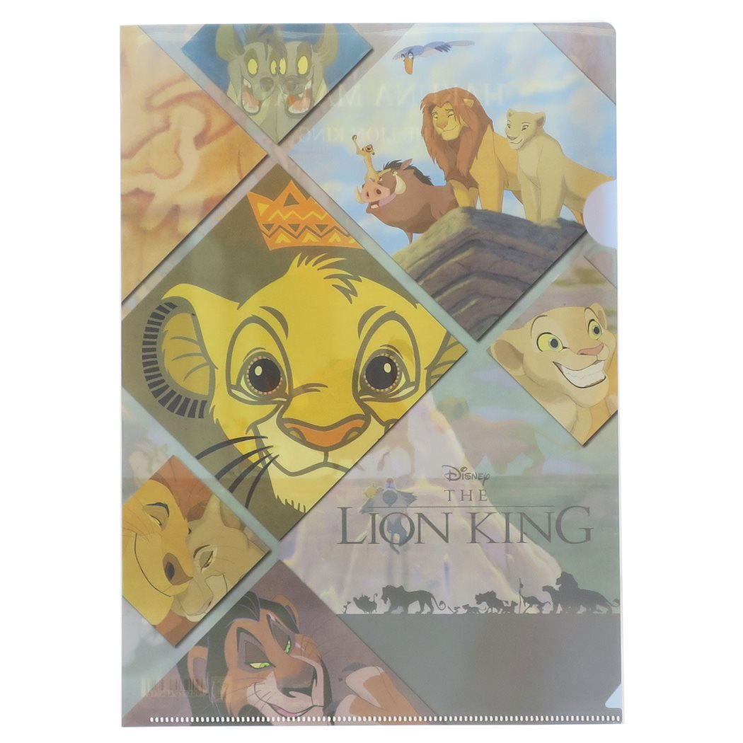 CLEAR FILE CHPR DC 56 LION KING