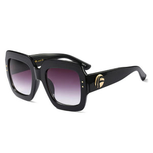 Royal vintage luxury oversize Sunglasses for the modern women