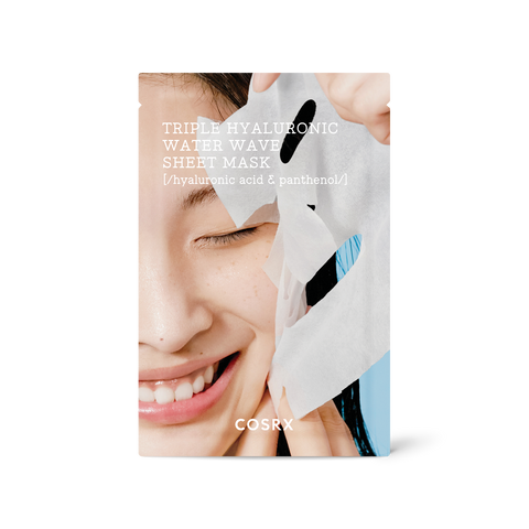 Hydrium Triple Hyaluronic Water Wave Sheet Mask - Know To Glow