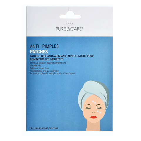 Anti Pimple Patches (36 Patches) - Know To Glow