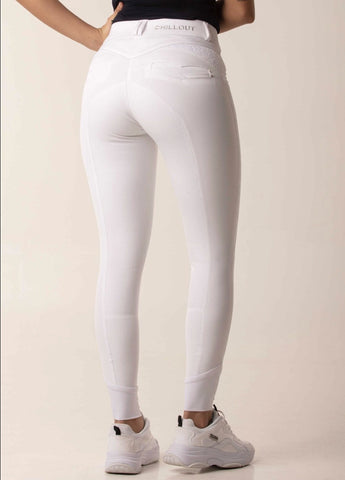 Chillout Horsewear Ltd Luxure Breeches White