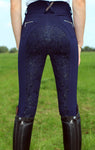 Chillout Horsewear Ltd SIlicone Seat Breeches Navy