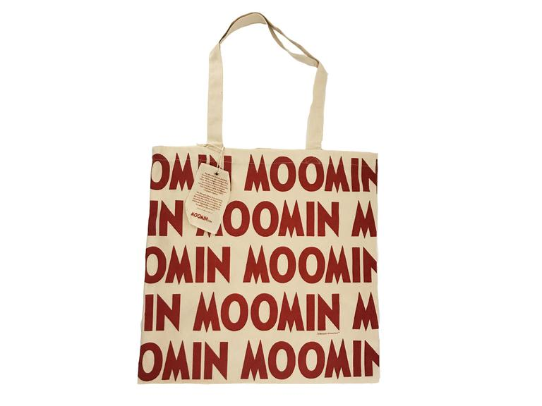 Free Moomin logo tote bag for orders over £100