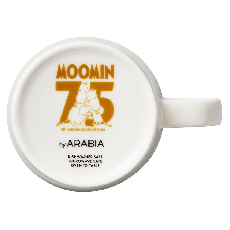 Special stamp on Arabia Moomin Classics mugs to celebrate Moomins' anniversary year