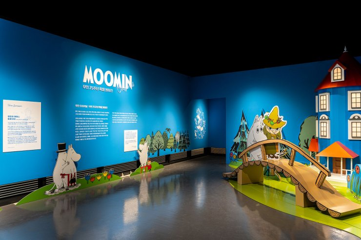 Moomins in Korea