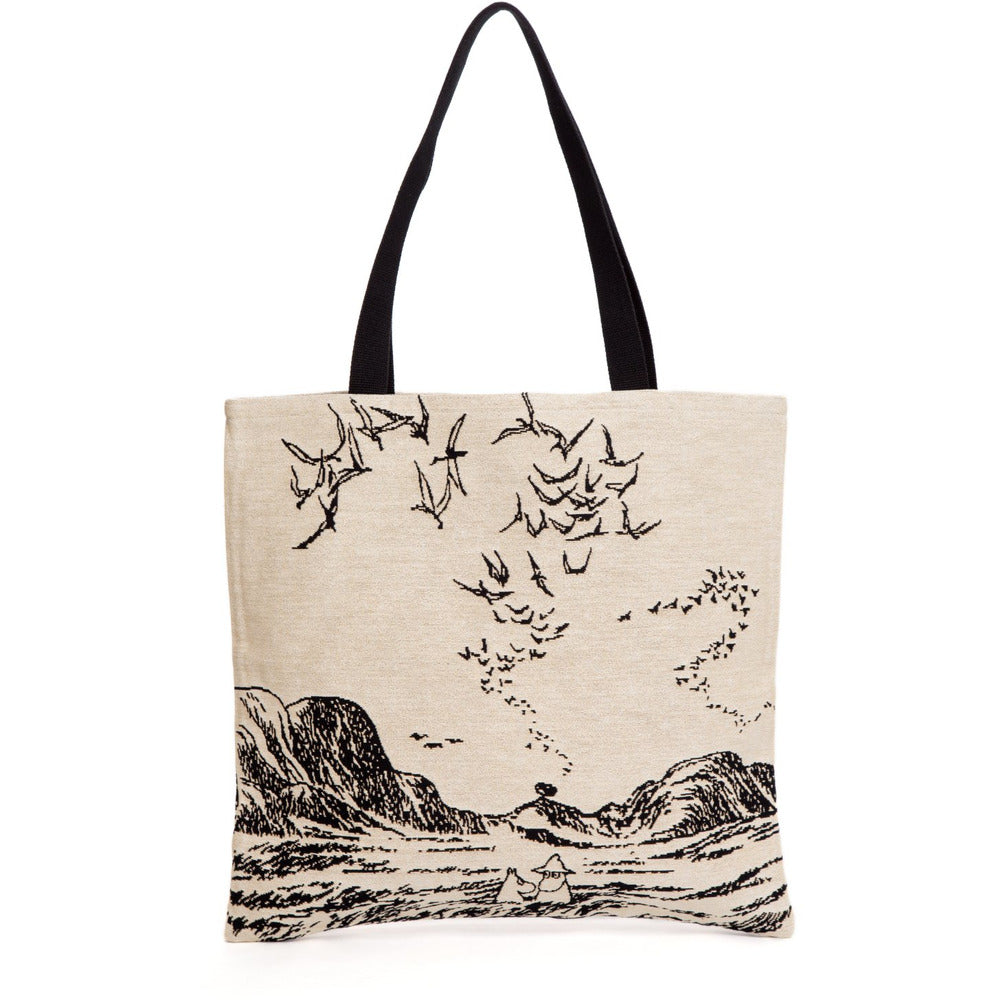 Jacquard bag Moomins At The Sea - .