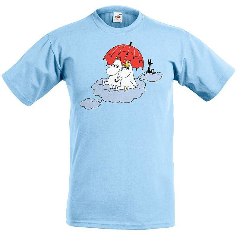 Moomin T-Shirt kids Moomin on the cloud Blue