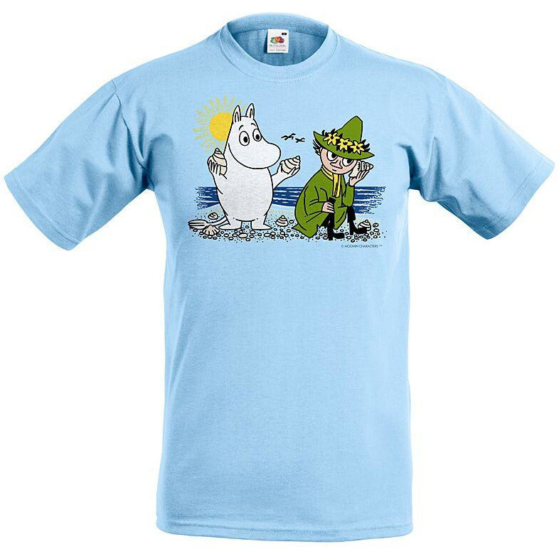 Moomin T-Shirt kids Moomin and Snufkin