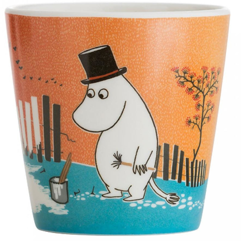 Moomin Melamine Mug Summer Skies Orange - .