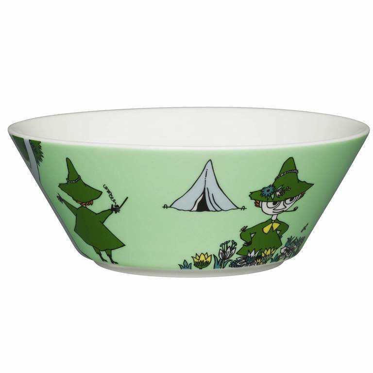 Moomin Bowl Snufkin Green - .