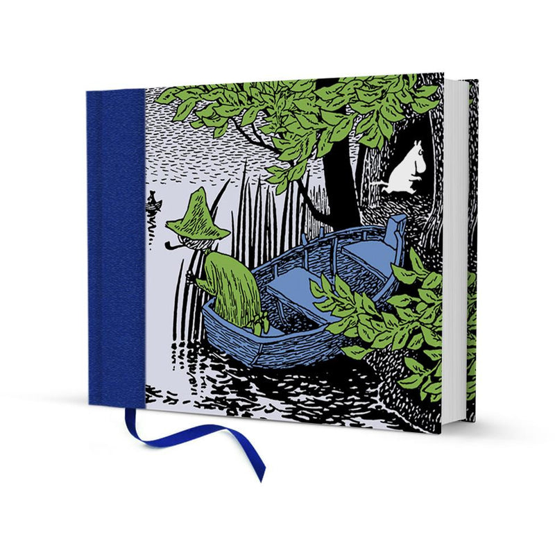 Clothbound Hardback Notebook Moomintroll And Snufkin - .