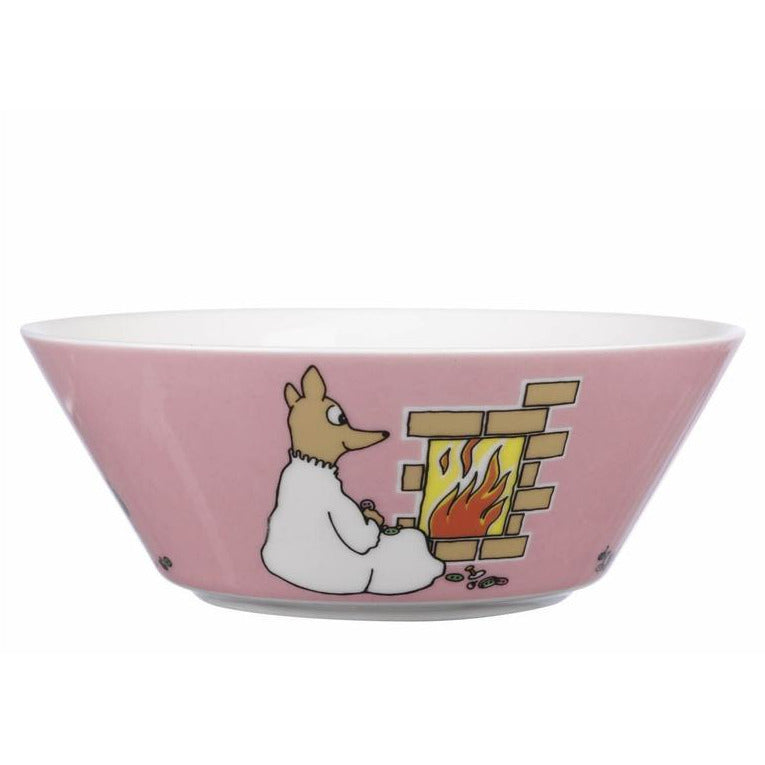 Moomin Bowl Fuzzy Pink - .