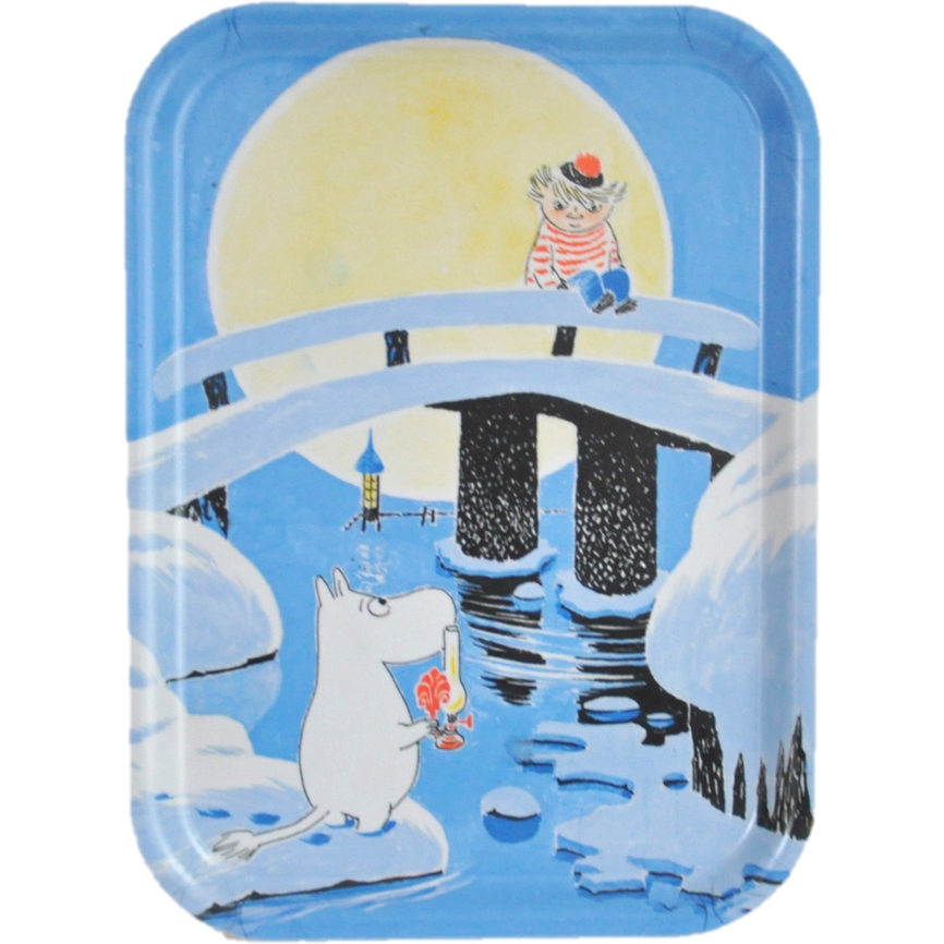 Moomin Tray Midwinter 27 x 20 cm - .