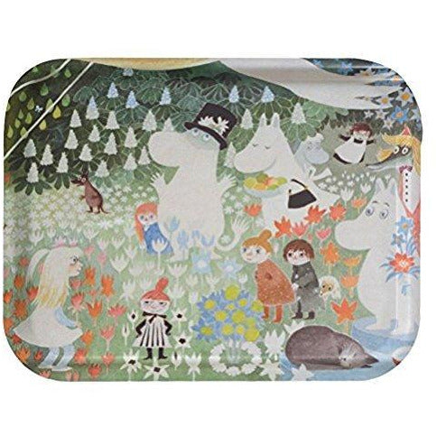Moomin Tray Dangerous Journey 27 x 20 cm - .