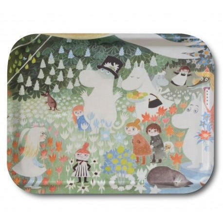 Moomin Tray Dangerous Journey 36 x 28 cm - .