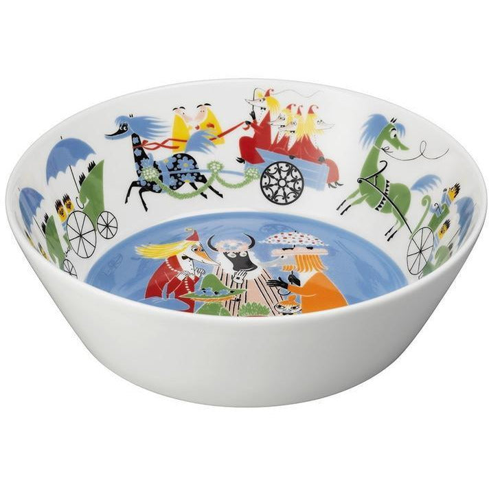 Moomin Friendship Serving Bowl - .